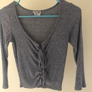 Grey La Hearts shirt (Pacsun)